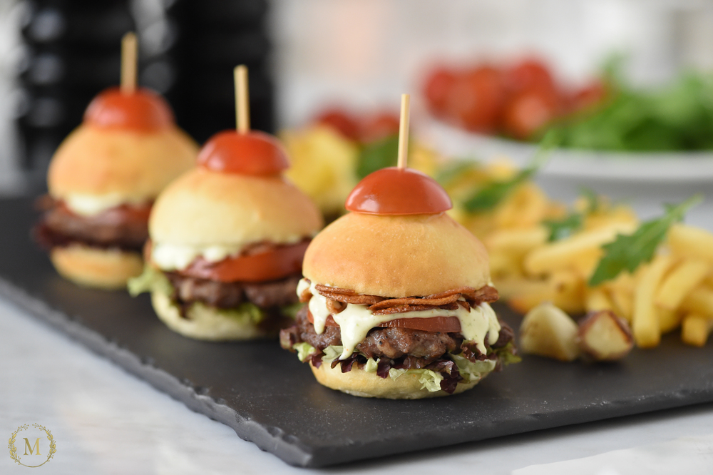 Trio of Beef Sliders