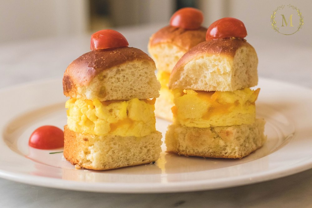 Kids Cheese & Eggs Slider