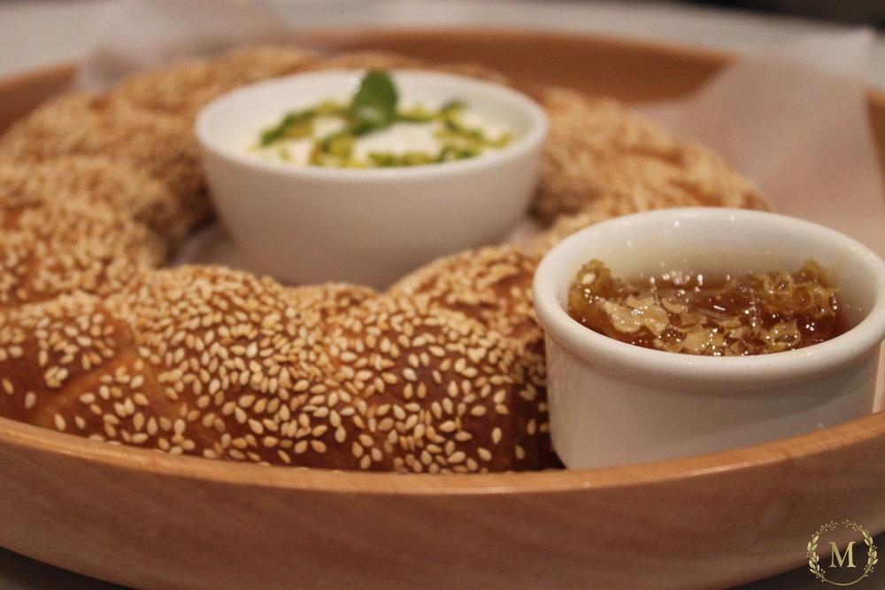 Turkey Bread with Honey & Cream