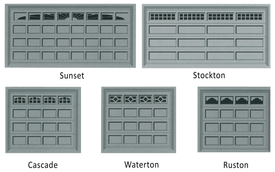 garage doors with windows styles. Sectional Door Window Styles Garage Doors With Windows T