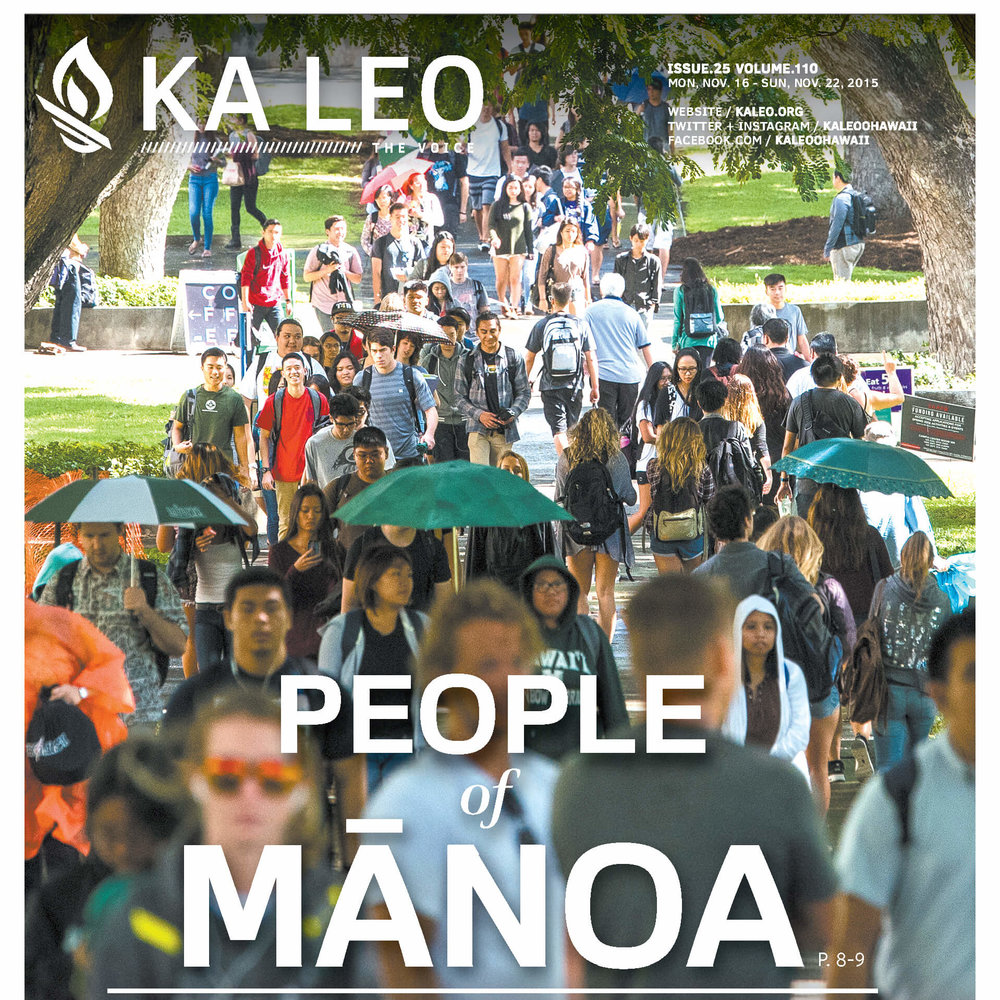 """PEOPLE OF MĀNOA"" - FOR KA LEO O HAWAII"