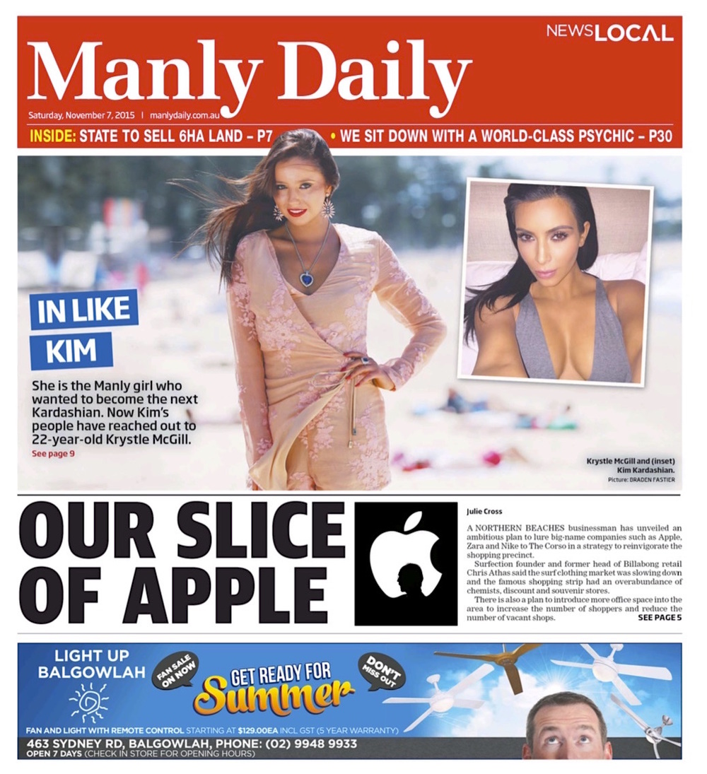 NewsLocal digital edition - Manly Daily - 7 Nov 2015 - Page #1.jpg