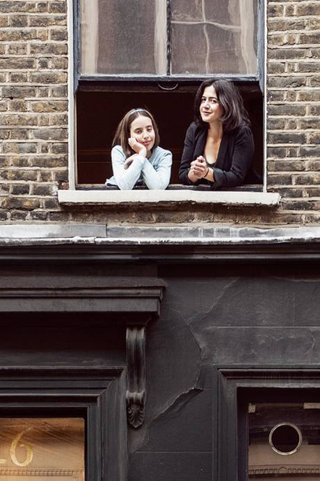 Sweet Soho home: Joy and Georgina