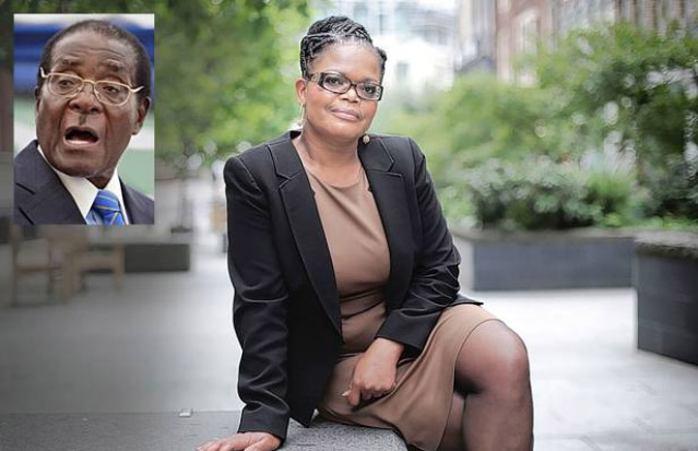 Looming election: Beatrice Mtetwa says she has suffered two beatings by police. Inset, Robert Mugabe