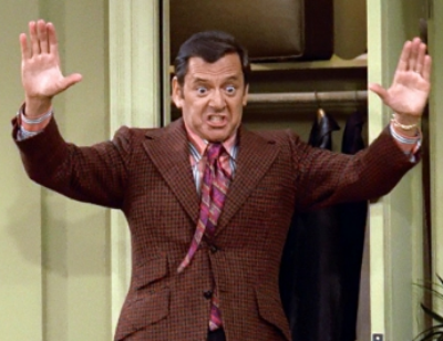 Felix Unger, half of The Odd Couple. Nothing like my friend, but since most of us with anxiety have perfectionist Tendencies, there likely are some similarities underneath.