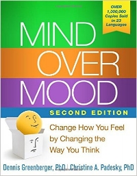Mind over Mood recommended book on anxiety