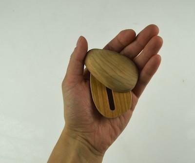 zen stone fidgeting