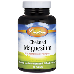 I take 400 mg of chelated magnesium every day in addition to the magnesium I get from eating foods like almonds and spinach.