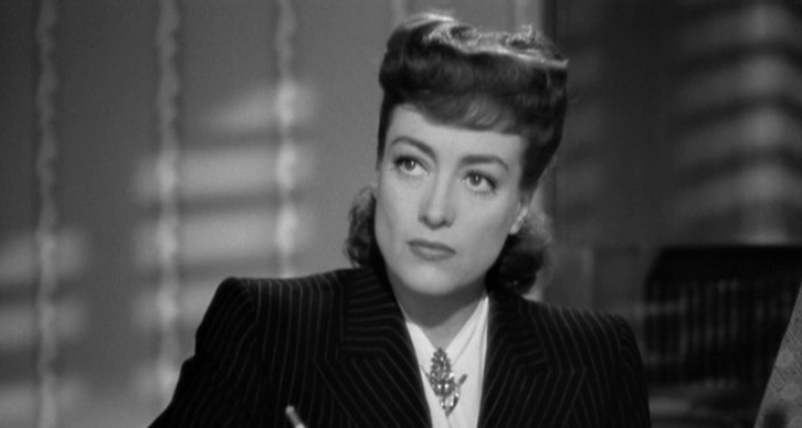 It makes sense to name your inner critic after Joan Crawford in Mildred Pierce.
