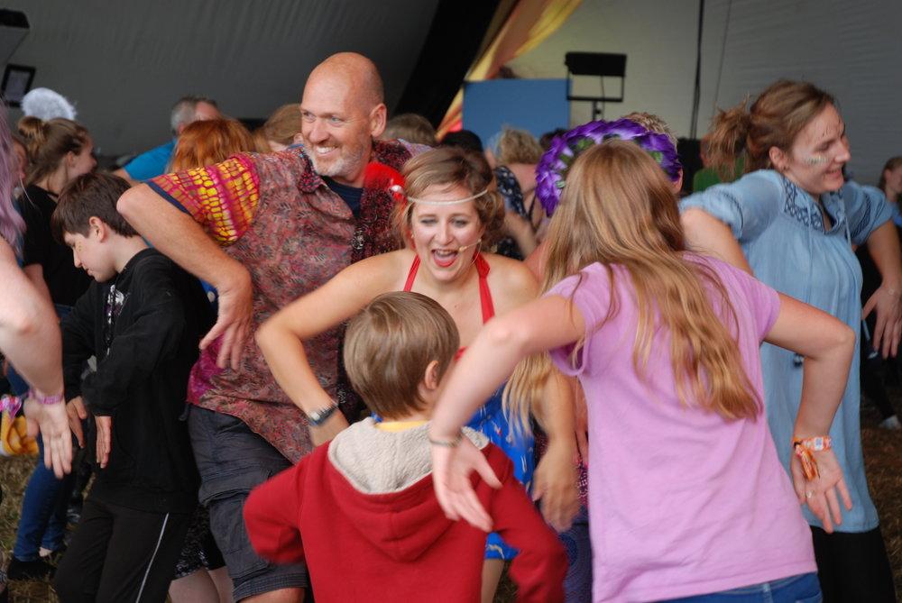 MyCharleston & Savoy kicks at Womad Music Festival