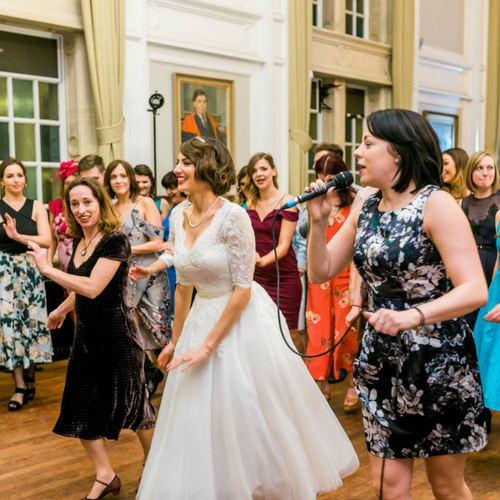 Savoy Kicks and MyCharleston at Goble Wedding