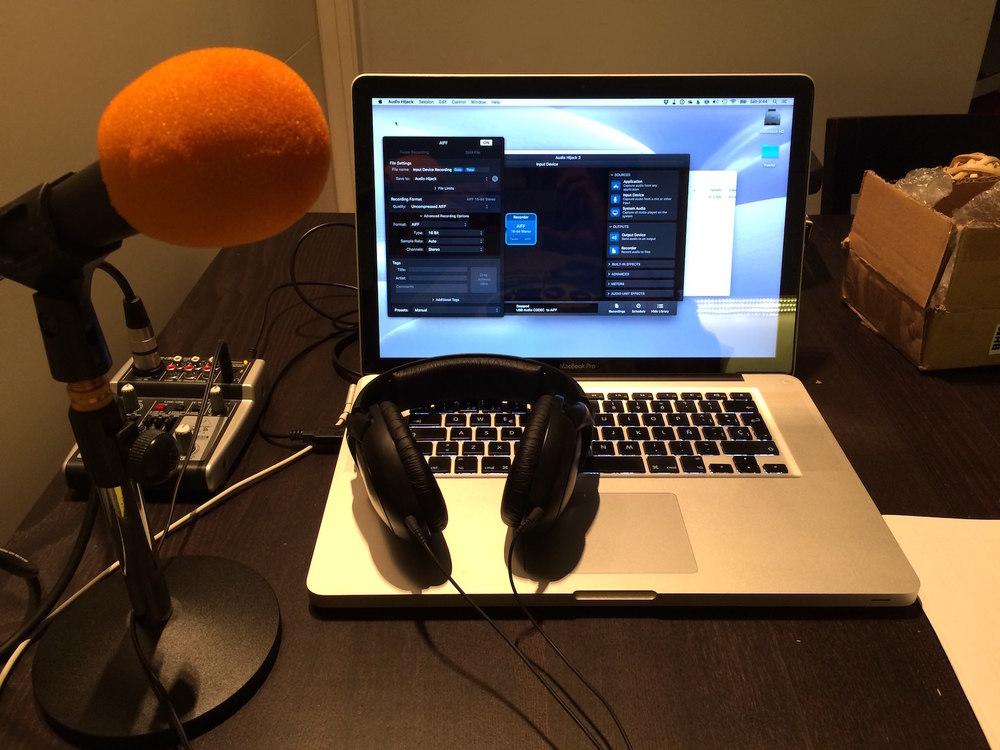 Mi pequeño equipo de podcasting: Behringer Xenyx 302USB + Behringer XM8500