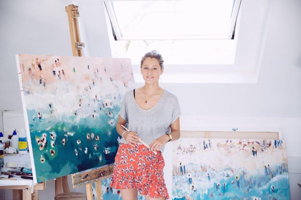 Nina Brooke Cornish Seascape Artist