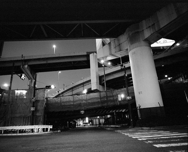 Maze of bridges, Osaka. 2016. #mamiya #400tx #japan #osaka #shootfilm