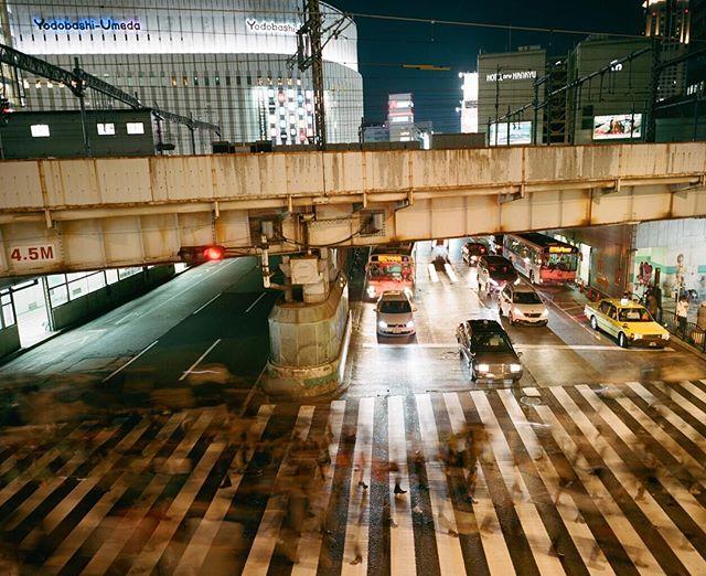 Umeda- Osaka. 2016 #osaka #mamiya #portra #kodak #mediumformat #shootfilm