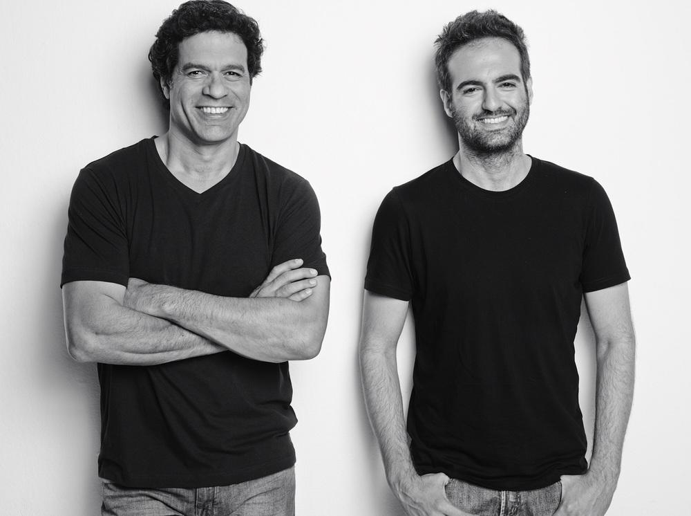Raí e Paulo Velasco. Foto: Bob Wolfenson