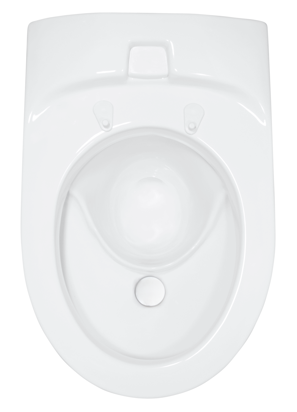 EcoVacUrine Diverting Vacuum WC - Probably the worlds most low-flushing toilet. Double-flush function with a small flush in the front of about 0,1 Liter, and the main flush of about 0,6 Liter.