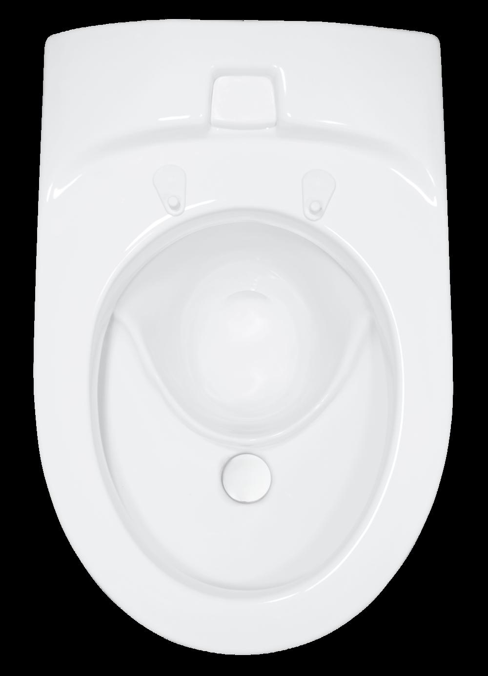 EcoVac urinsorterande vakuum-WC. - Kanske världens mest snålspolande toalett? Dubbelspolande, ca 0,6 l och 0,1 l. Lilla spolningen spolar endast av urinskålen. Läs mer >