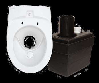EcoDry™ - Porslinstoaletten för fritidshus!Den exklusiva torrtoaletten som ersätter alla plast-toaletter, mulltoaletter och utedass.Behövs inget avlopp, el eller vatten! Porslins-WC som håller i många år.Från 6.200:-