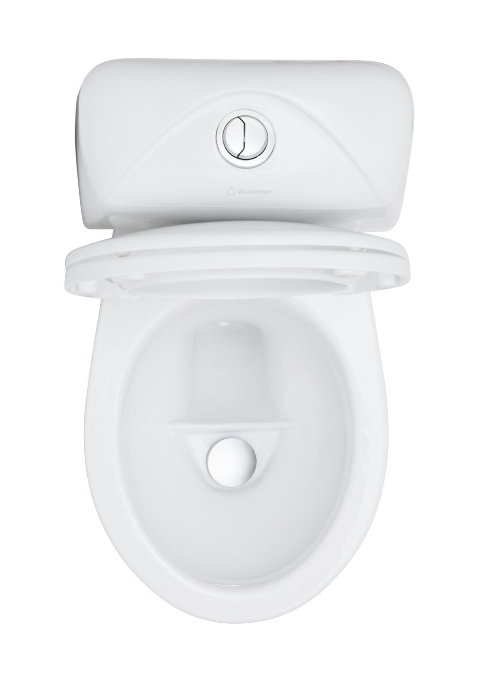 EcoFlush urinsorterande vattentoalett. - EcoFlush urinsorterande vattentoalett. Dubbelspolande 2,5 l och 0,3 l. Lilla spolningen