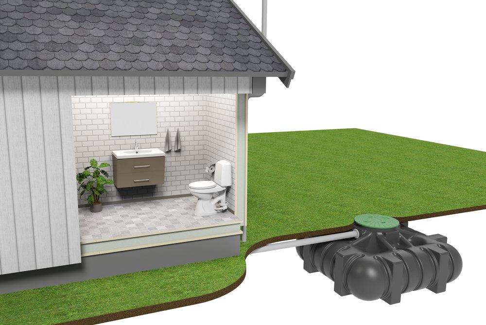 Spara pengar genom att använda EcoFlush till en sluten tank. - EcoFlush är toaletten som känns som en vanlig toalett, men som använder extremt låga spolvolymer!Med en dubbel spolfunktion och en urinskål i främre delen av toaletten så sparar den upp till 80% vatten. EcoFlush används främst till septiktankar, områden där man behöver spara på vattnet och till miljömedvetna hushåll i hus eller lägenhet. Om du använder EcoFlush till en septiktank eller enskilt avlopp så kan du spara mycket på ekonomin med färre tömningar av tanken. De flesta har sparat in sin EcoFlush på 3-6 månader!