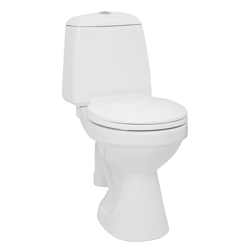 EcoFlush™- supersnålspolande WC! - – Kommunalt eller enskilt avlopp!– Spolar under 1 liter!– Godkänd av kommunerna.– Sparar 80% vatten!– Färre tömningar av avloppstanken!– Gemensamt eller separerande avlopp.Från 5.800:-