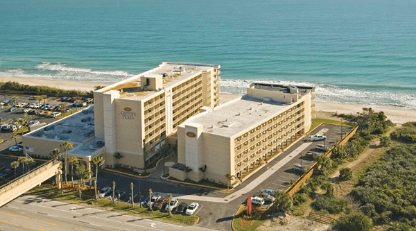 The Crowne Plaza Melbourne Oceanfront