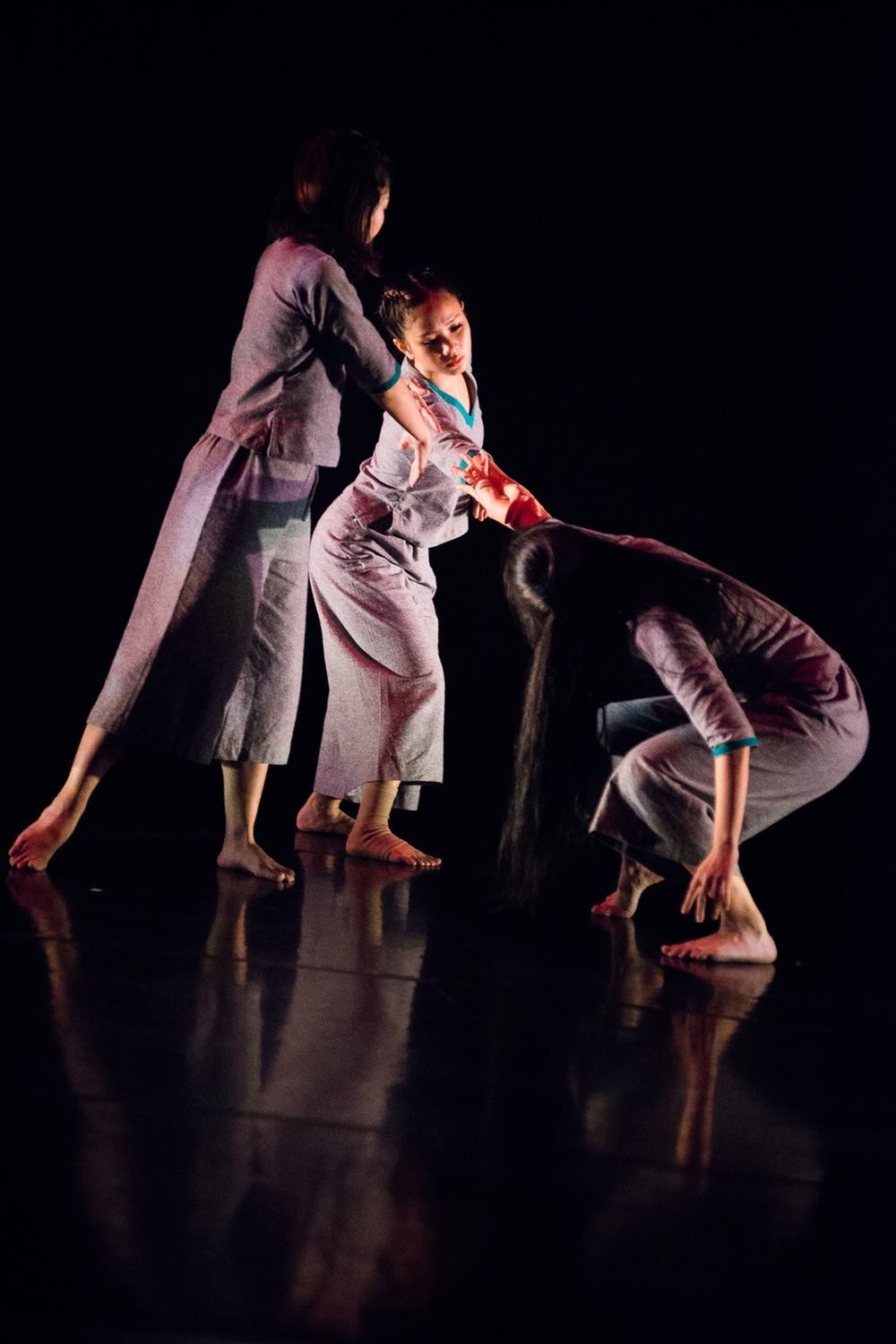 """The Vanishing Point?"" (2015), Choreography: Nirmala Seshadri for Nanyang Academy of Fine Arts,  Image: Jeff Low"