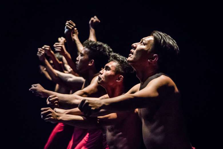 A sense of pathos was conveyed in Cry Jailolo.PHOTO: BERNIE NG, COURTESY OF ESPLANADE - THEATRES ON THE BAY