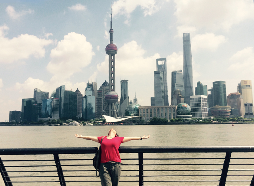 Dreams come true! Shanghai - China - 2015