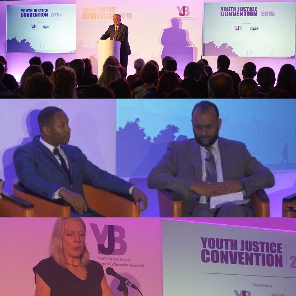 The Safety Box Founder, Nathaniel Peat speaks on Violence Reduction within the estate at the Youth Justice Convention, December 2015.    Other Panelists   - Javed Khan, CEO, Barnardos   - Glenn Knight, Governor, Feltham Young Offenders Institution   - Seamus Oates, Board Member, Youth Justice Board    - Alisa Purton, Young People's Cluster Lead Psychologist, Public Sector Prisons Psychology Services