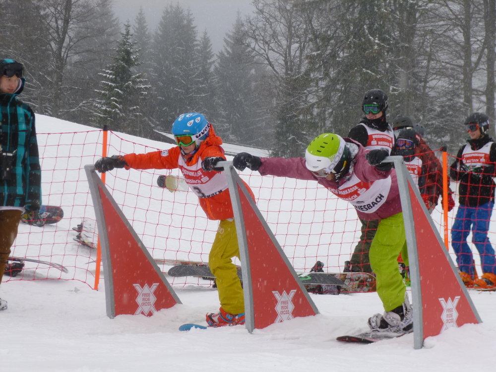 Schulsportwettbewerb Snowboard Bayern (Race / SBX-Rennen)