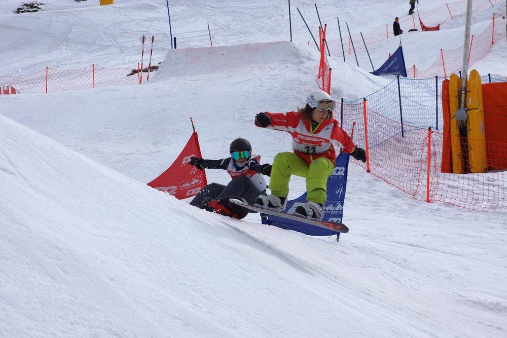 Schulsportwettbewerb Snowboard Bayern -Kids- SnowboardCross