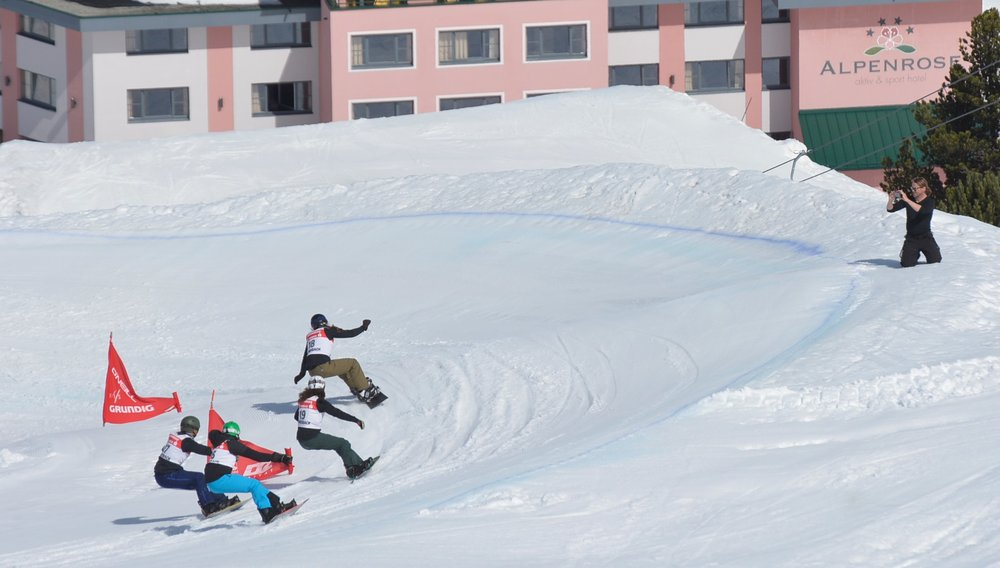 Snowboardcross Bayernfinale Kühtai
