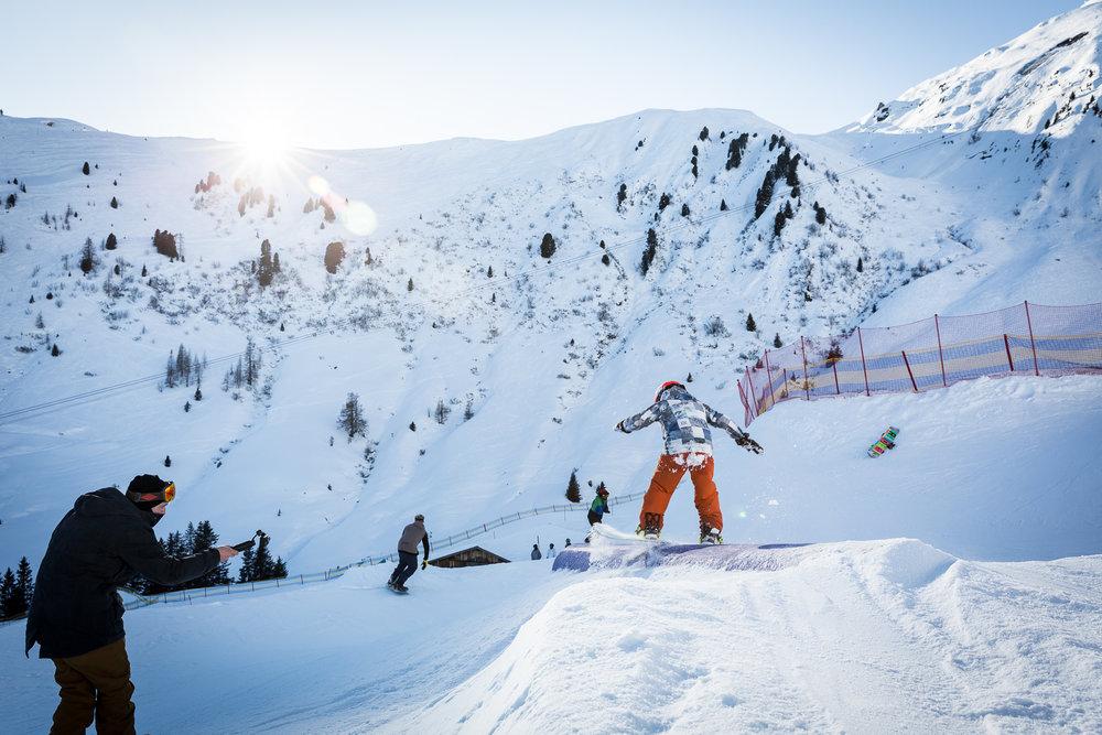 Freestyle Coaching für Kinder und Jugendliche im Snowpark Mayrhofen