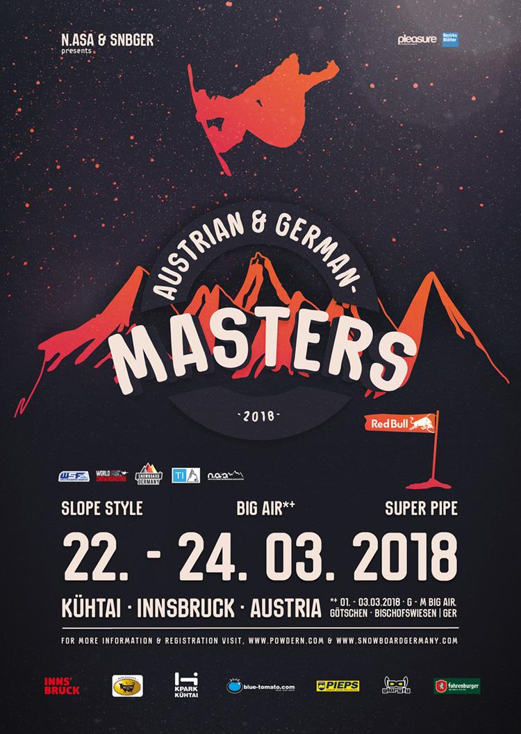 Deutsche Snowboard Meisterschaft Halfpipe Slopestyle Kuehtai 2018