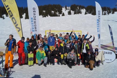 Snowboardcross Meisterschaft Grasgehren 2018