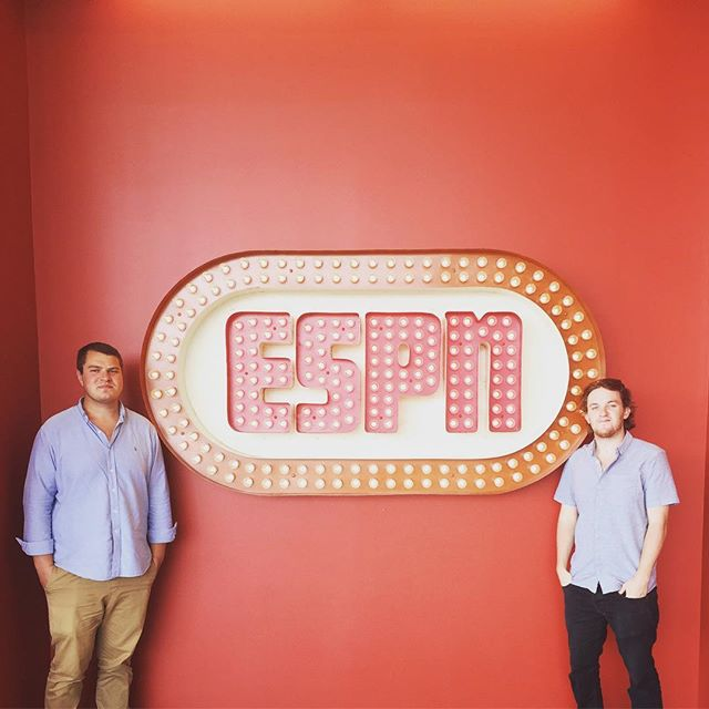 We went to ESPN and talked to the great Field Yates and Adam Schefter (win cameos from Randy Moss, Matt Hasselbeck, and Charles Woodson). Tune in for some great Labor Day listening