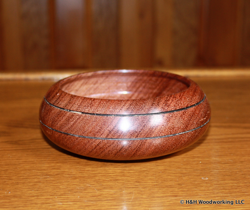 Turned bowl
