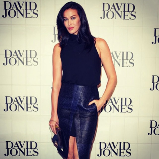 Had the pleasure of doing @megankgale s hair  for the @davidjonesstore #show last night hair colour by  #Belindajeffrey  styling @henryburke1 (at La Boutique)