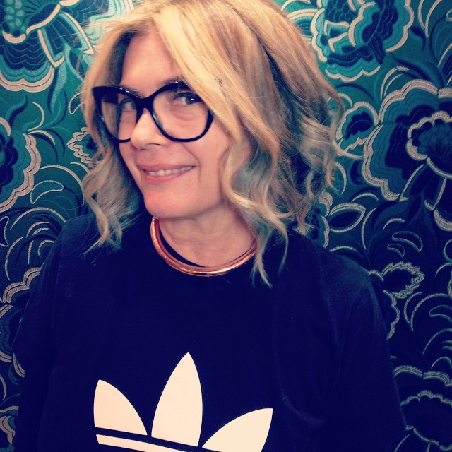 #TGIS!!!!! What a week!!! Super busy in the salon this week ⚡️⚡️⚡️ Just had to post this pic of your awesome client @scarlettvespa who came in for cut and colour ✂️✂️✂️ Bel had fun doing peekaboo #aquamarine pieces and gorgeous #creamy #blonde 💙💙💙 #curlyhair #blowdry #adidas #hothair #hairlove (at La Boutique)
