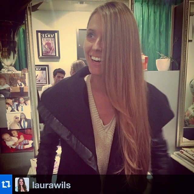 #Repost from @laurawils Gettin' my blonde on… @laboutiquehair ☺️ Love creating your blonde locks and pleasure having you in our salon again💥💥