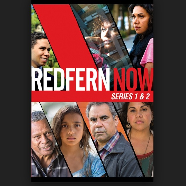 Love this show and proud to work with our talented Australian #Indigenous mob. Support and watch this deadly series. Hair colour @dantastic1983 Haircuts @jessemayfurlan @laboutiquehair #redfernnow #laboutiquehair (at La Boutique)