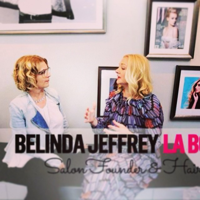 The One Belinda Jeffrey talking #hair #fashion and #trends with Scarlett Vespa on www.brandyouworld.tv Vids to come! (at La Boutique)