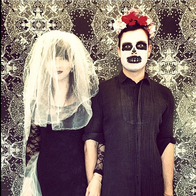 Happy Halloween from the La Boutique team! Your hairdressers are feeling very undead today (at La Boutique)