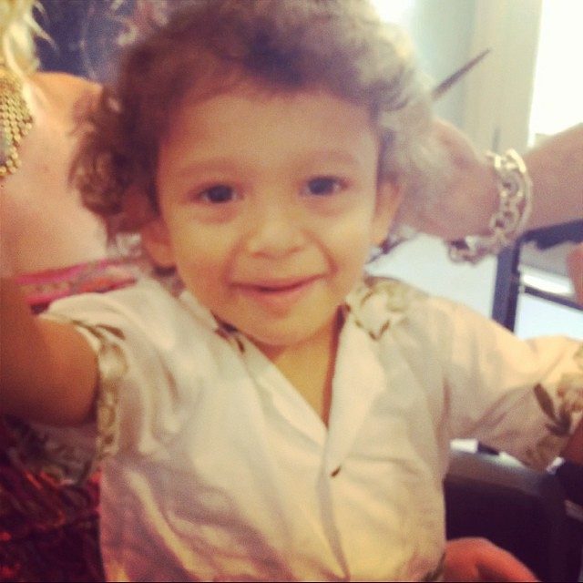 #first #haircut with Felix!! #curls get the #girls  (at La Boutique)