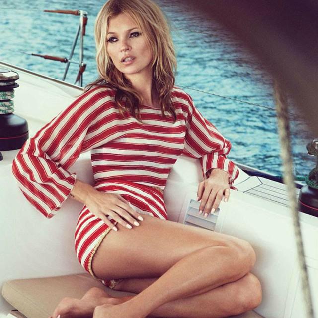 #love #nautical #katemoss #vogue #vogueUK #blonde #bombshell