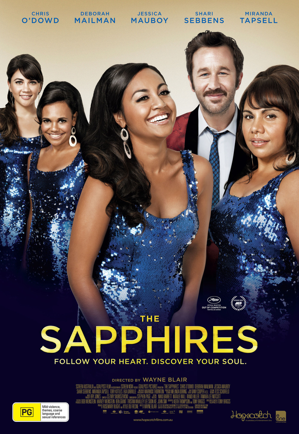 We can't wait for the release of the Sapphires, a film that Henry and Dan worked on a few months ago with Nikki Gooley, BAFTA award winning makeup artist and La Boutique family! The Sapphires is an inspirational tale set in the heady days of the late '60s about a quartet of young, talented singers from a remote Aboriginal mission, discovered and guided by a kind-hearted, soul-loving manager. Plucked from obscurity, the four spirited women with powerhouse voices - called The Sapphires - are given the opportunity to entertain American troops in Vietnam. Catapulted onto the world stage as Australia's answer to the Supremes, their journey of discovery offers them not only the chance to show off their musical skills, but find love and togetherness, experience loss and grow as women.