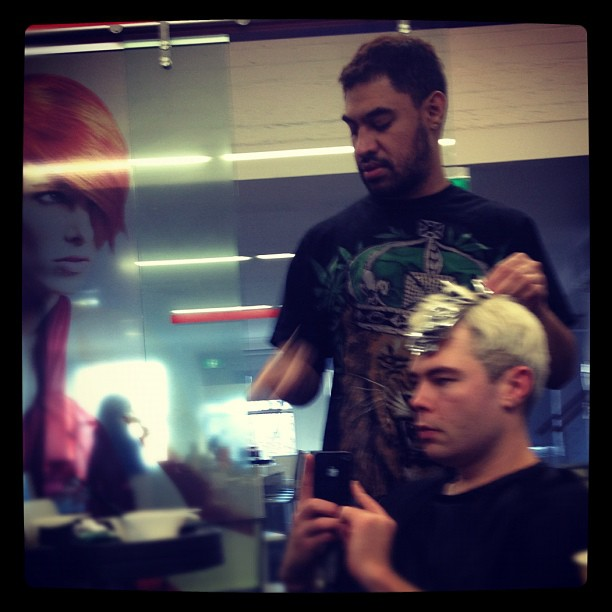 #wella #dan Tafeuni #mce #colour (Taken with  Instagram )