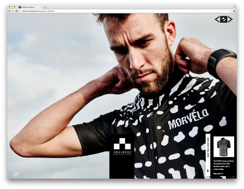 Morvélo cycling photoshoot with apparel
